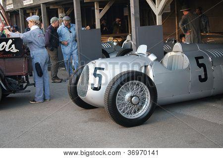 Auto Union 'silver arrows' classic racing car