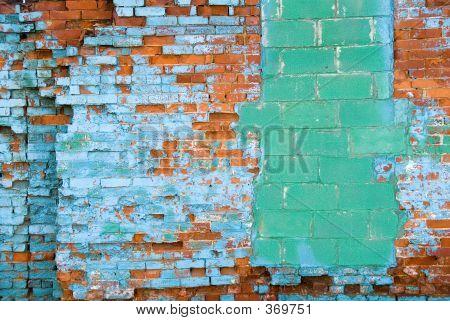 Distressed Brick Wall 6