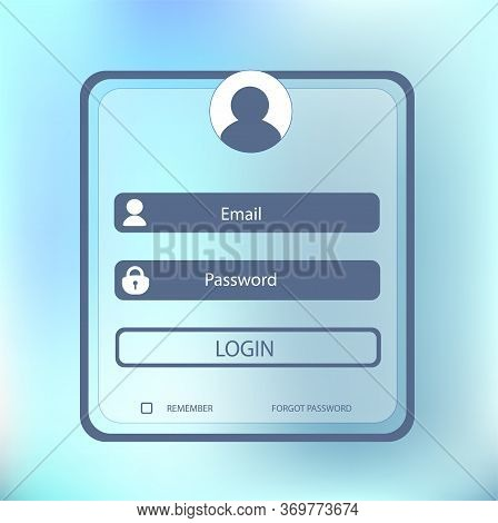 Login To Your Account On The Website Or In The Application Enter Login And Password. Icon With User
