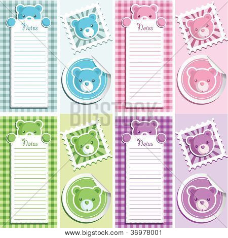 Baby Shower Bear Scrapbooking