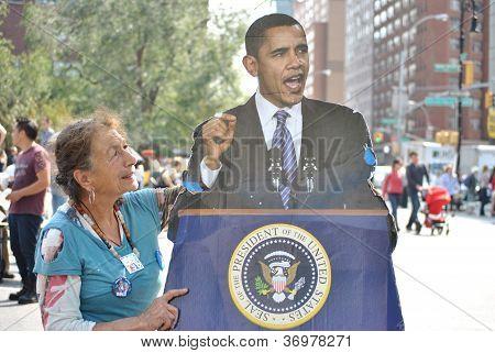 Barack Obama, Voter Regristration