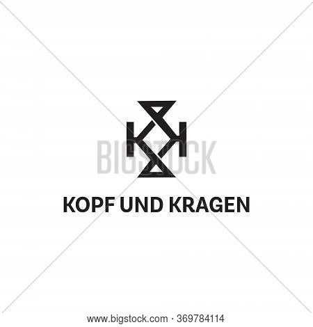 Kk Logo Vector And Templates Simple Minimalist