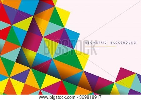Abstract Background.Abstract vector background with triangles. EPS 10 background.Abstract Background.Abstract Background.