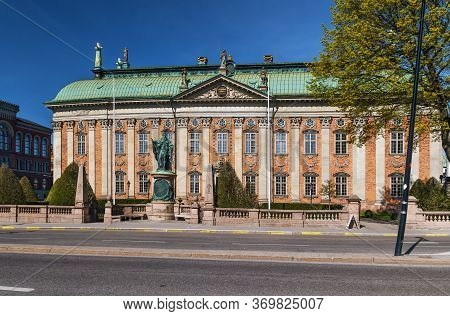 The House Of Nobility In Stockholm, Sweden, Maintains Records And Acts As An Interest Group On Behal