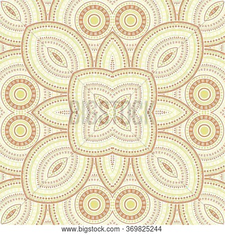 Intricate Moroccan Zellige Tile Seamless Rapport. Geometric Texture Vector Patchwork. Tapis Print De