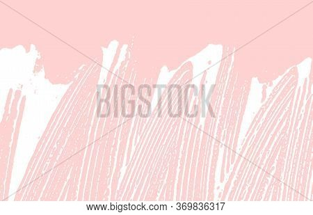 Grunge Texture. Distress Pink Rough Trace. Grand Background. Noise Dirty Grunge Texture. Brilliant A
