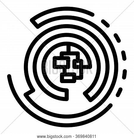 Radio Engineer Solder Icon. Outline Radio Engineer Solder Vector Icon For Web Design Isolated On Whi