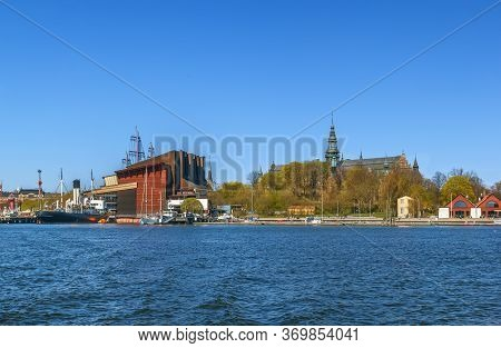 The Nordic Museum And Vasa Museum Is Museums Located On Djurgarden Island In Central Stockholm, Swed