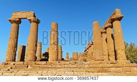 Sicily, Temple of Juno in the Valley of the Temples