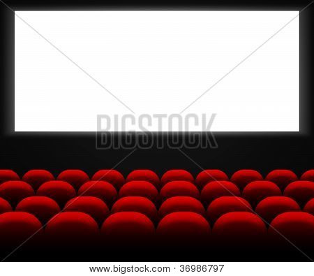 Cinema Hall Background