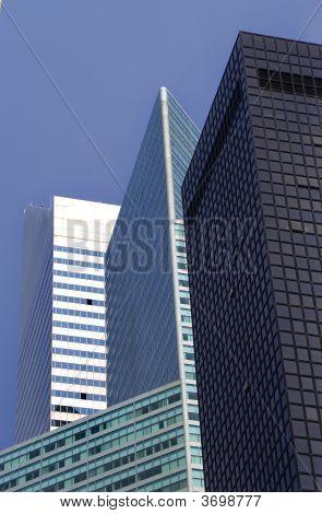 Modern Buildings Skyscrapers Citibank Building New York City