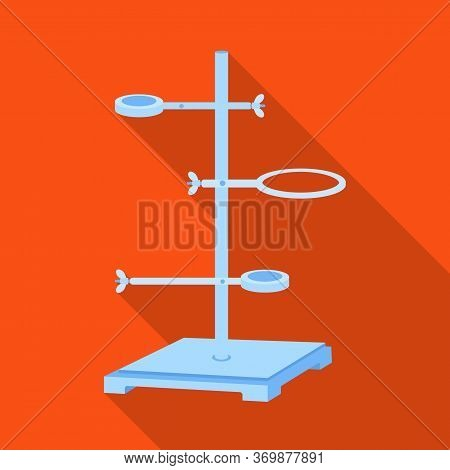 Vector Design Of Equipment And Lab Logo. Web Element Of Equipment And Biotechnology Stock Vector Ill