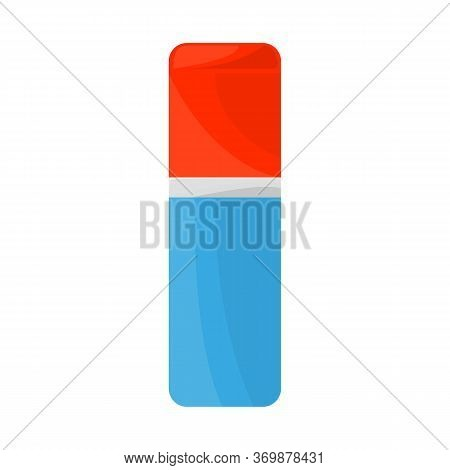 Isolated Object Of Eraser And Rubber Icon. Graphic Of Eraser And Erase Stock Vector Illustration.
