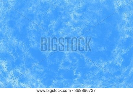 Ceramic Background With Paint Brush Strokes Pattern, Blue Patchy Background