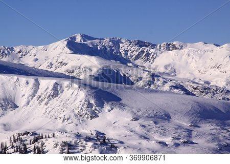 Parang Mountains Around Transalpina Ski Resort, Romania