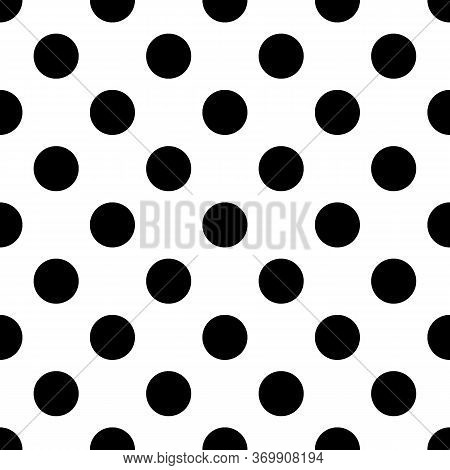 Circles Seamless Ornament. Polka Dot Pattern. Dots Image. Tribal Backdrop. Rounds Background. Dotted