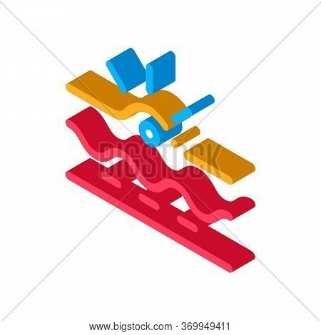 Appearance Of Acne Icon Vector. Isometric Appearance Of Acne Sign. Color Isolated Symbol Illustratio