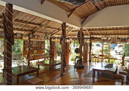 Palawan, Ph - Dec 1 - The Lotus Garden Asian Fine Dining Restaurant Interior On December 1, 2009 In