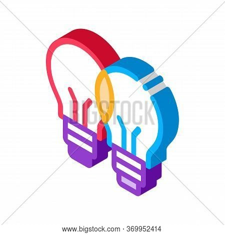 Common Wit Icon Vector. Isometric Common Wit Sign. Color Isolated Symbol Illustration