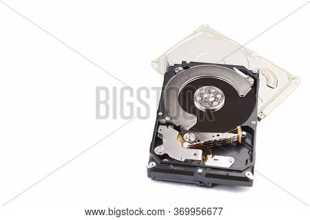 Internal Computer Hard Drive Repair In A Specialized Service Center
