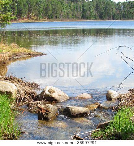 Mississippi Stream in Minnesota