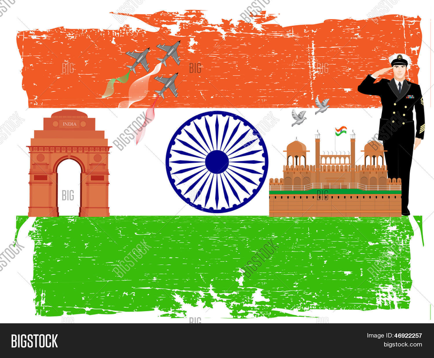 Indian Independence Vector Photo Free Trial Bigstock