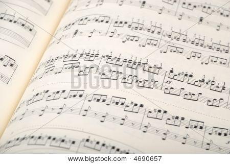 Musical Sheet Background