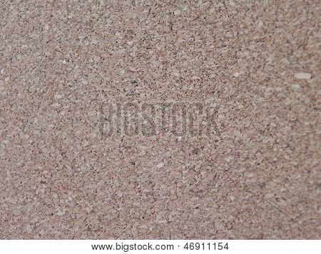 Macro of cork panel
