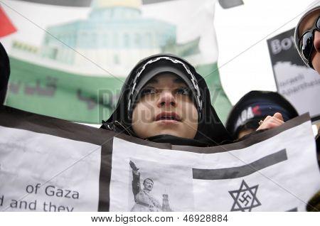 Anti Israel Rally.