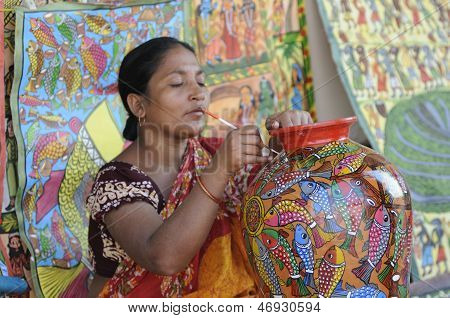 Handicraft Fair in Kolkata.
