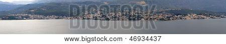 Herceg Novi and Igalo in Montenegro panorama poster