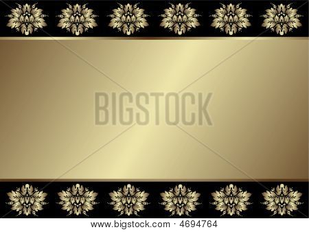 Gentle Black And Silvery Background (vector)