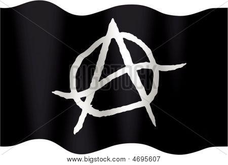 Anarchistic Undulating Flag