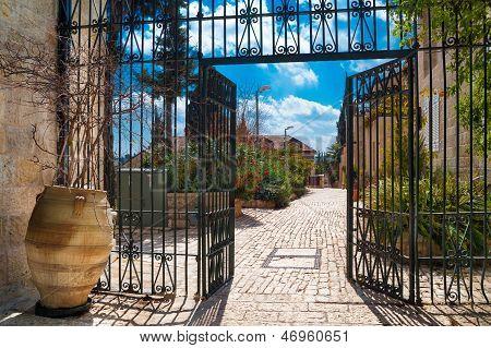 Schöne Jerusalem Lane
