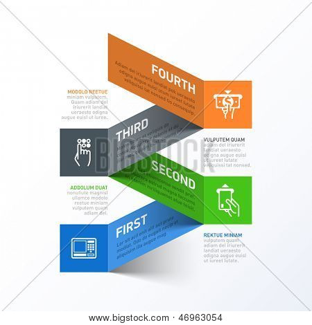 Withdrawing cash from an ATM abstract infographics template. Vector.