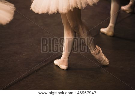 Pointe Shoes Stopped