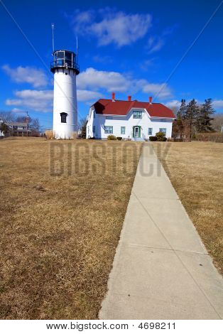The Chatham Lighthouse On Cape Cod, Massachusetts