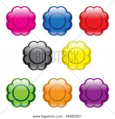 Flower Buttons