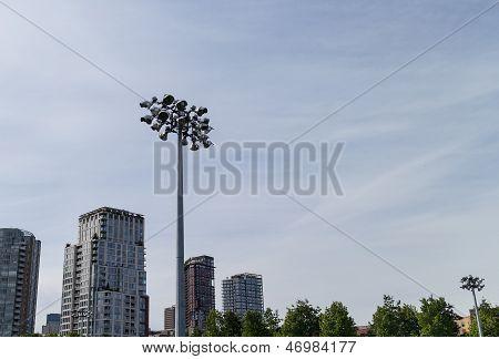 Urban Floodlights For Football Field