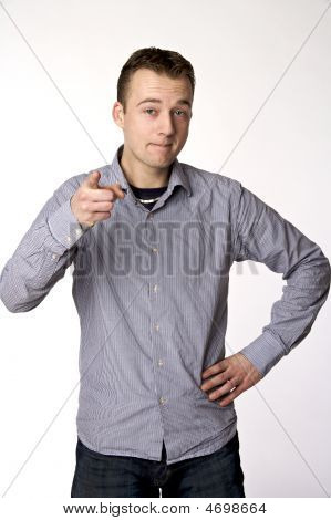 Pointing Guy