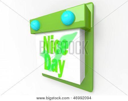 Nice day - happiness