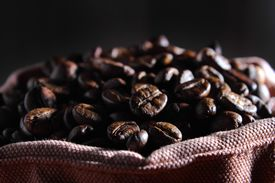 Coffee Beans In The Bag