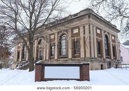 Historic Public Library In Saint Paul