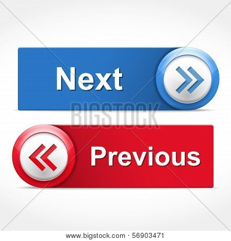 Next And Previous Buttons