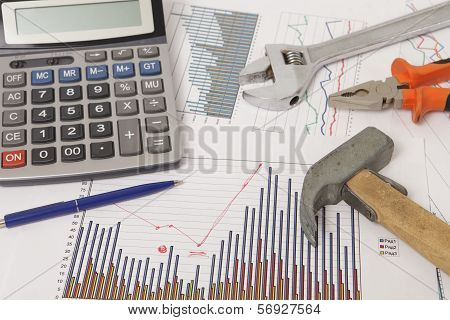 Graphics With Calculator And Tools