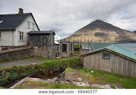 Faroe Islands, Abandoned Village