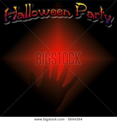 Halloween party scrapbook