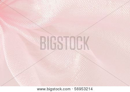 pink organza macro texture background