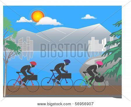 Corporate Bike Race