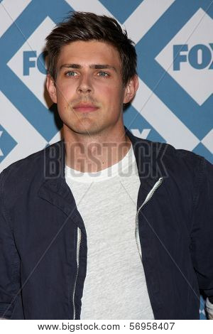 LOS ANGELES - JAN 13:  Chris Lowell at the FOX TCA Winter 2014 Party at Langham Huntington Hotel on January 13, 2014 in Pasadena, CA